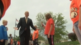 Gov. Ricketts honors Hastings school for success