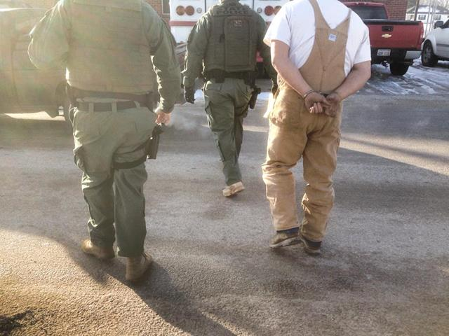 OBN arrests a suspected Garvin County methamphetamine dealer on multiple felony charges