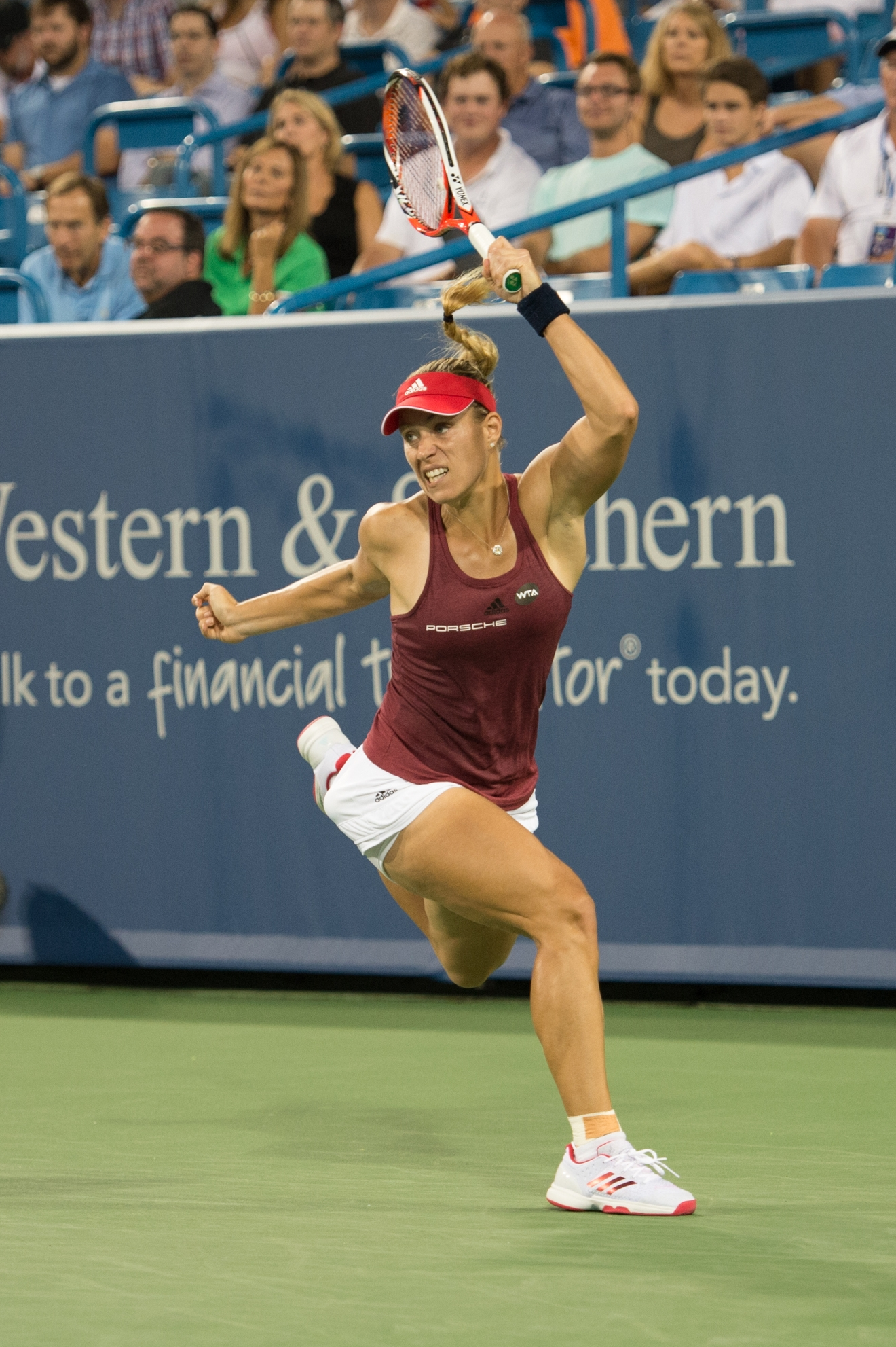 Angelique Kerber / Image: Chris Jenco