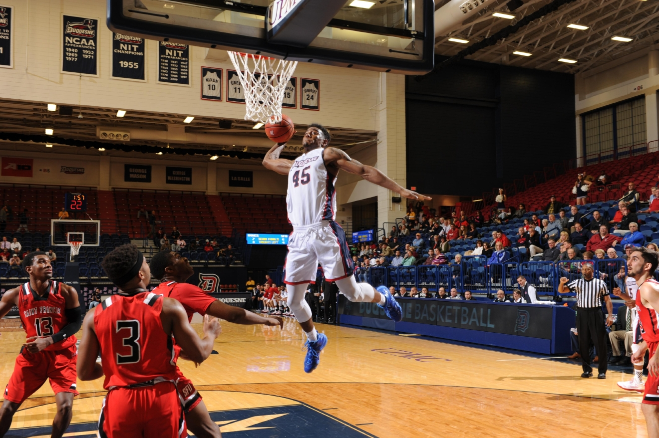 Photo courtesy Dave DeNoma/Duquesne Athletics
