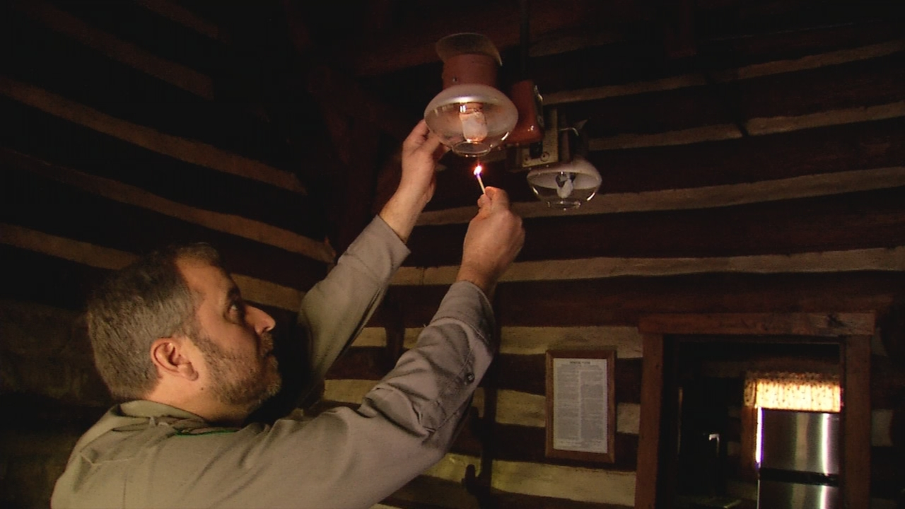 Gas lighting and appliances are provided at the cabins. (WCHS/WVAH)