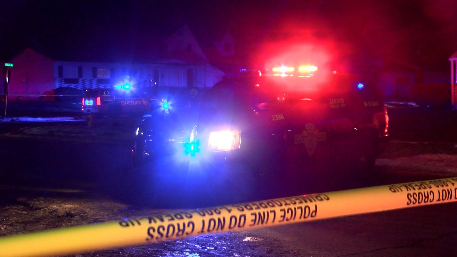 A 15-year-old girl is in critical condition after being shot in the head{ }(Photo credit: Ian Wood, NBC25/FOX66 News)