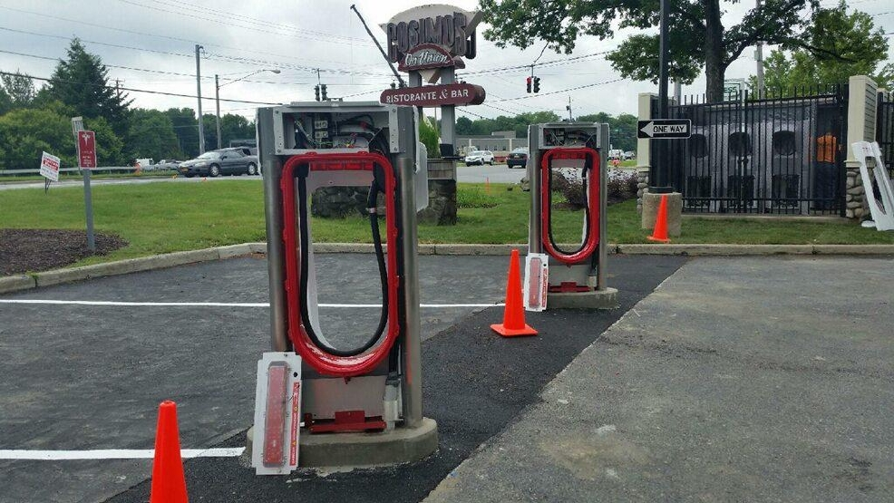 Would You Recharge Your Tesla Electric Car At A Gas