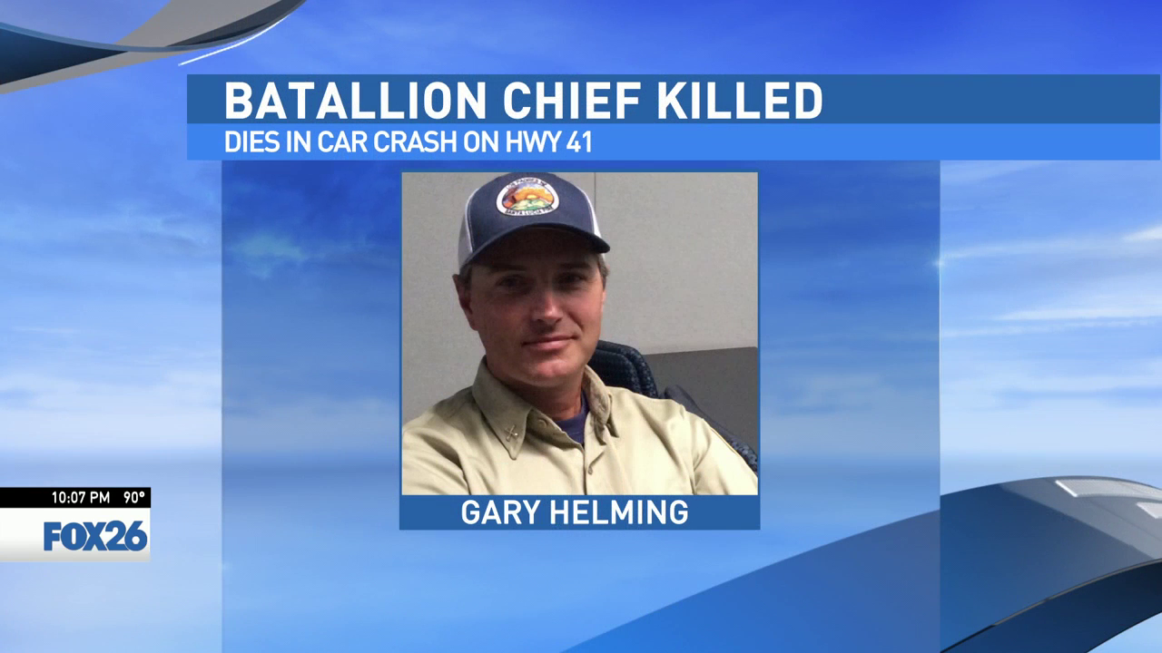 U.S. Forest Service battalion chief killed in collision on Highway 41