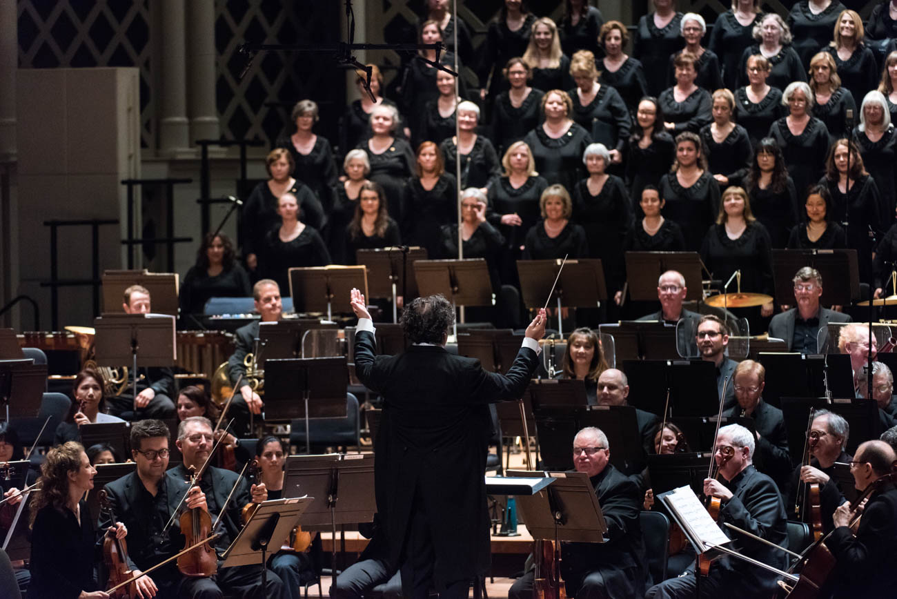 This year's performances focus on the theme of existence, and what happens after life. The concert festival includes unique programs in and outside of Music Hall and follows themes of destiny, immortality, and more. / Image courtesy of the May Festival // Published: 5.8.19