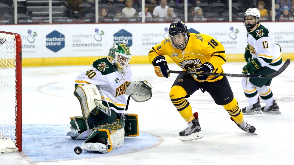 Friendship Four Final - Vermont Catamounts v Quinnipiac Bobcats