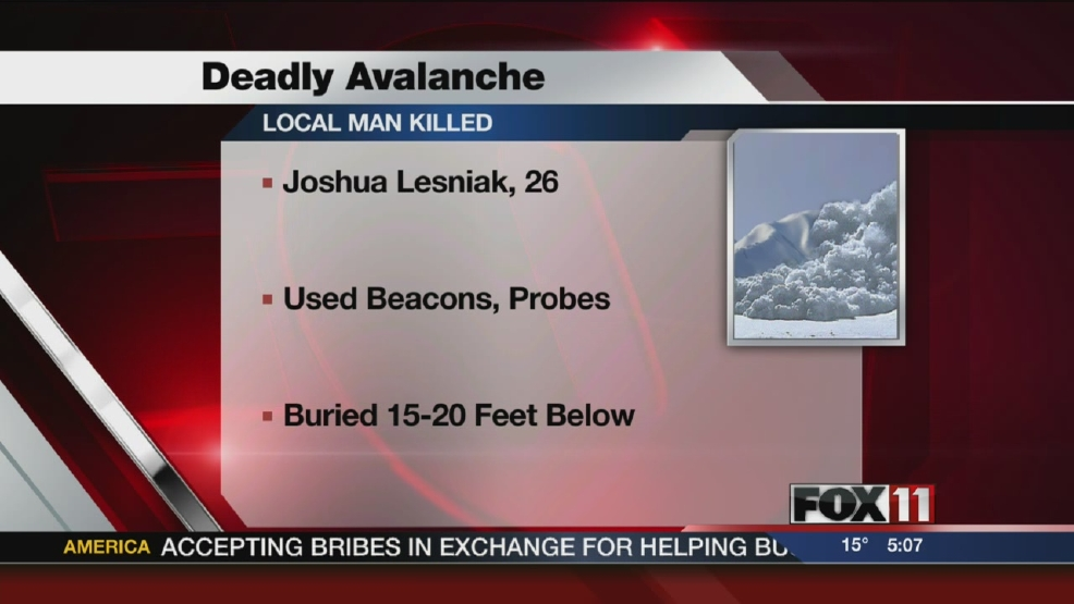 Berlin man killed in Colo. avalanche