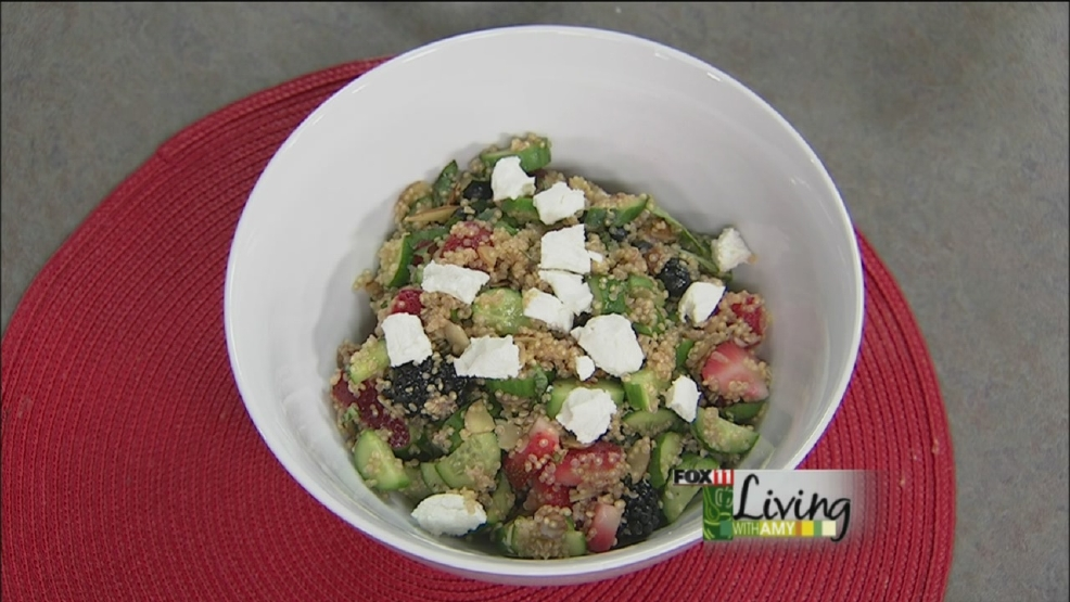 Quinoa berry Salad