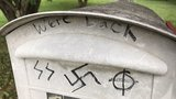 Roanoke Police investigating swastikas drawn on mailboxes, recycle bin