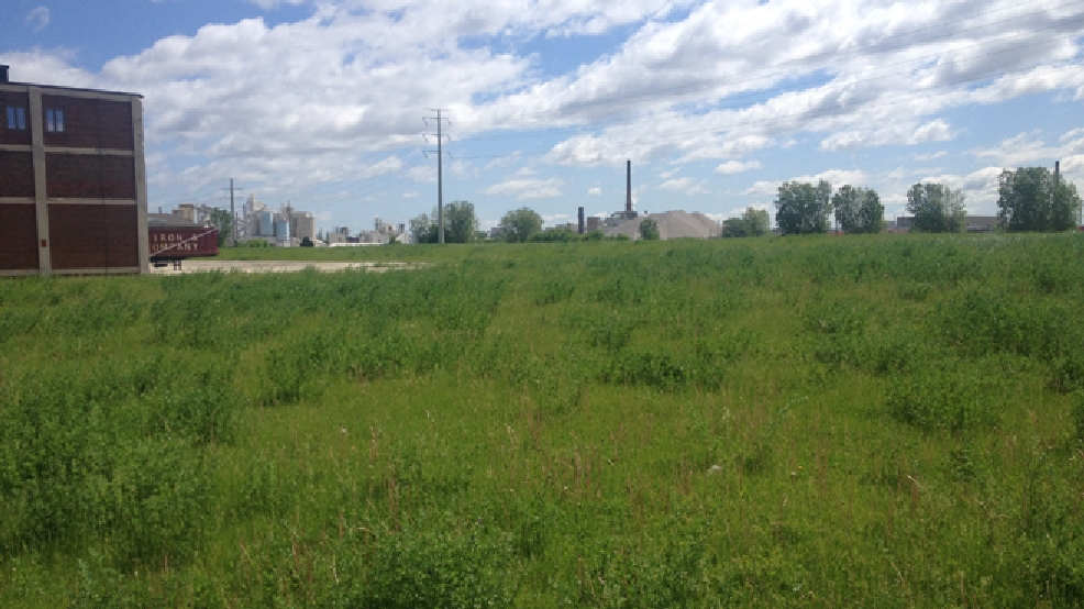 The Larsen Green site in downtown Green Bay. (WLUK/Bill Miston, file)