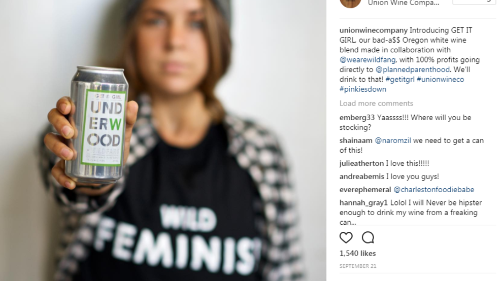 Wine and clothing company aims to raise $100k for Planned Parenthood