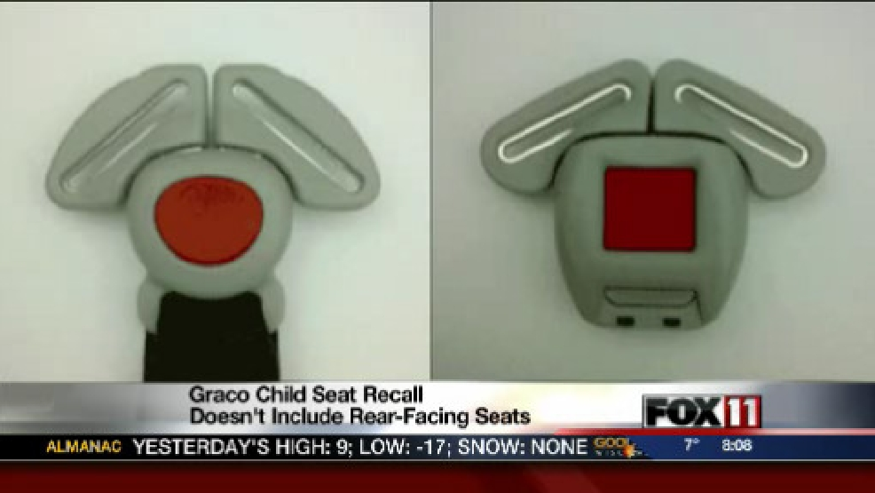 Graco recalling nearly 3.8M child car seats