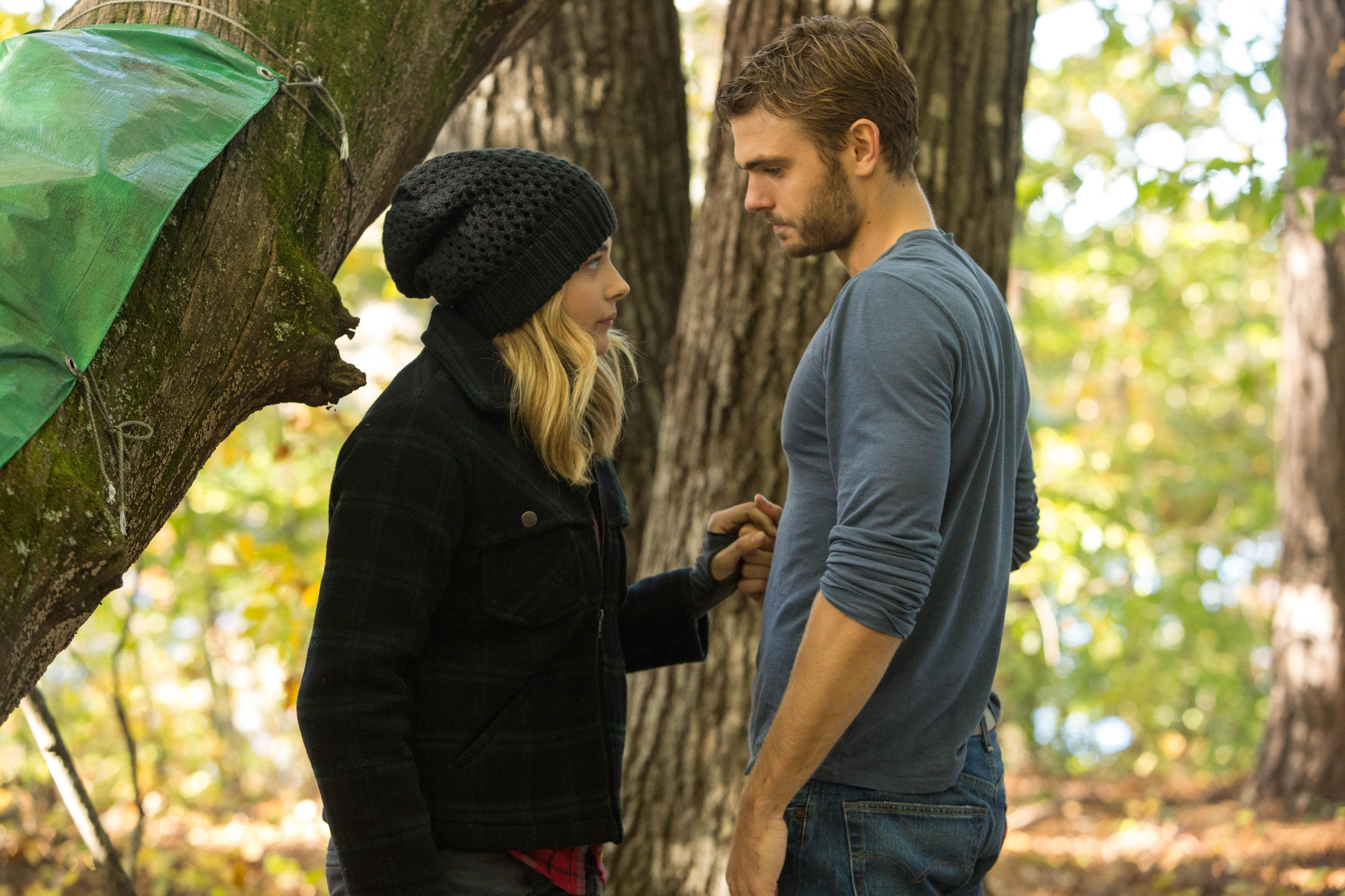 "Chloe Grace Moretz and Alex Roe star in Columbia Pictures' ""The 5th Wave."""