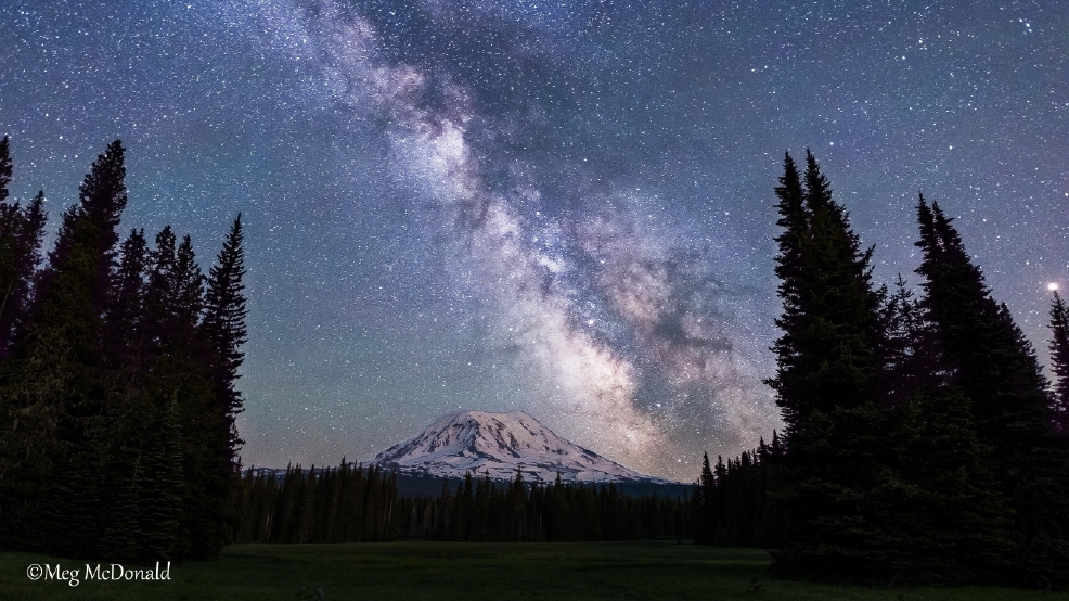 Watch: Crystal clear skies show off majestic Milky Way galaxy