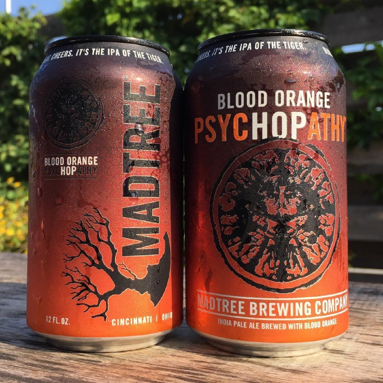 BLOOD ORANGE PSYCHOPATHY by MadTree Brewing / This is Psychopathy taken to another level as a nod to Cincinnati's newest sports franchise, FC Cincinnati. / Image courtesy of MadTree Brewing // Published: 1.10.17