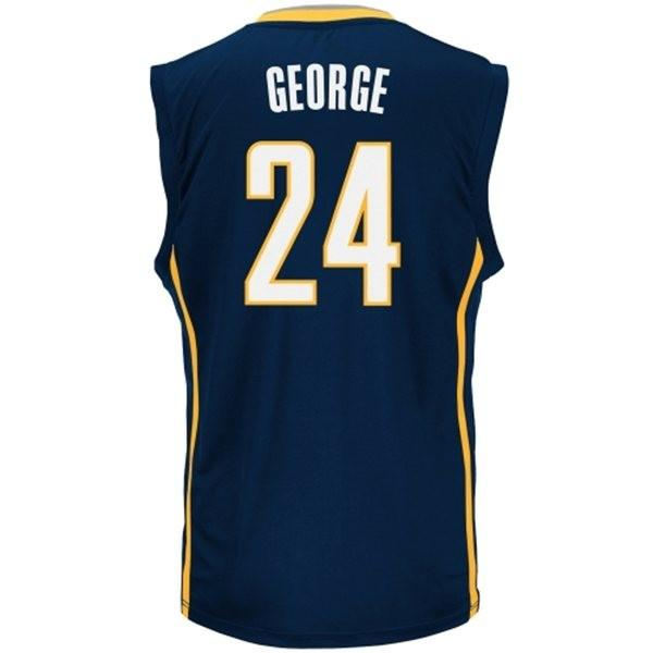 The Indiana Pacers Paul George hangs on in the top 15 sales, but slips from 14 to 15.