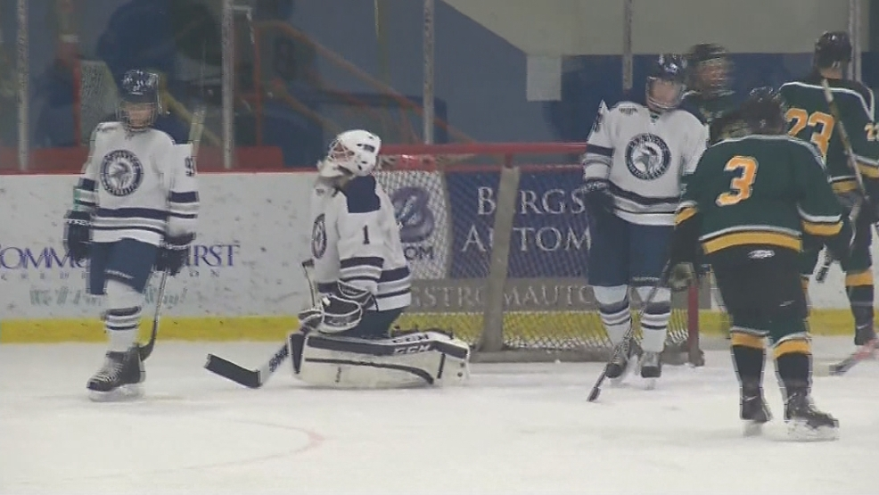 Lawrence University takes on St. Norbert College in men's hockey. (WLUK)