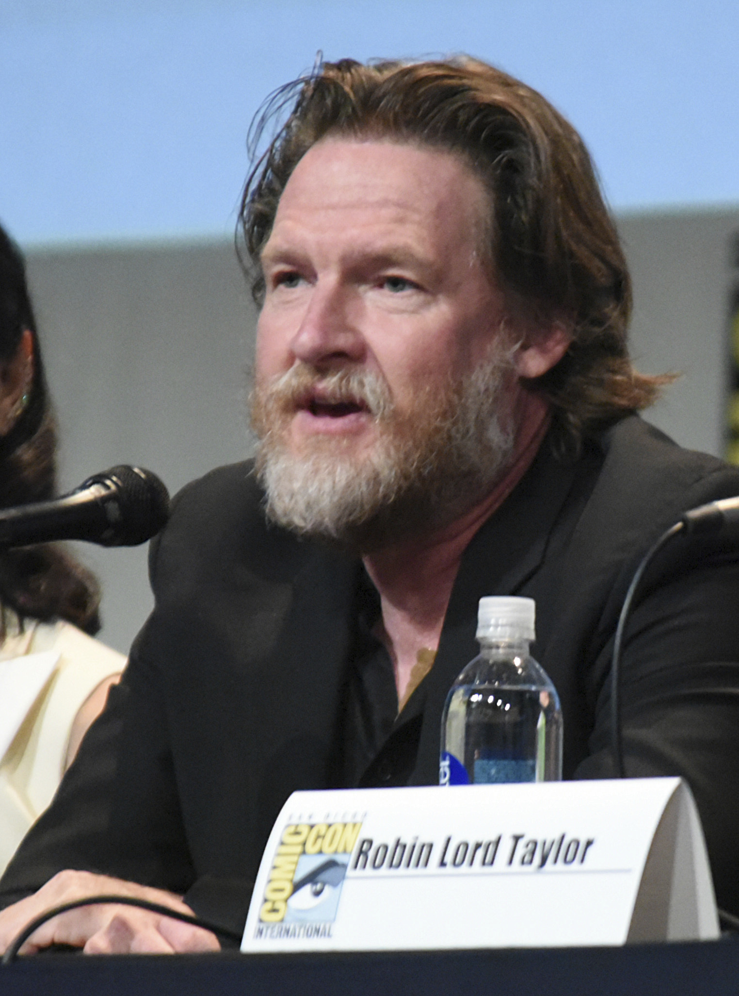"FILE - In this July 11, 2015, file photo, Donal Logue attends the ""Gotham"" panel at Comic-Con International in San Diego. Logue posted a plea on Facebook July 2, 2017, for the public's help in locating his missing daughter, Jade. (Photo by Richard Shotwell/Invision/AP, File)"
