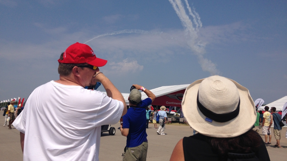 This year's AirVenture brought in visitors from more than 60 countries. (WLUK)