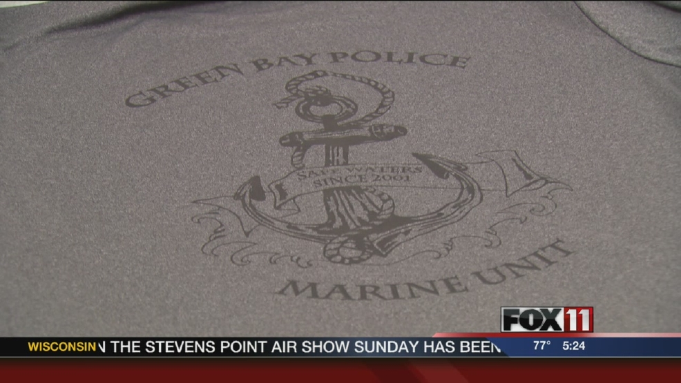 Preble High School student designs GBPD Marine Unit logo