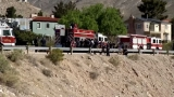 Woman falls down cliff in central El Paso Monday morning