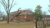 Possible tornado hits Taylor County