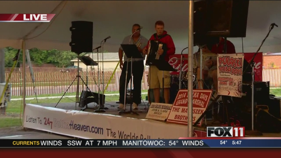 Polka Days in Pulaski. July 18, 2014