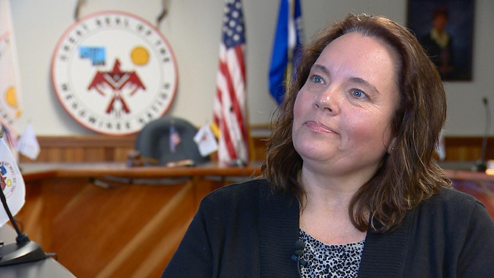 New Menominee Tribal Chairwoman Laurie Boivin talks to FOX 11 on Mon, Feb. 10, 2014.