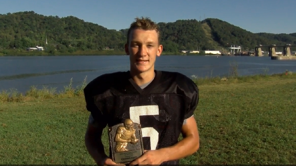 Week 4 Hancock County Chrysler Dodge Jeep Ram/WTOV9 Player of the Week, Lukas Isaly