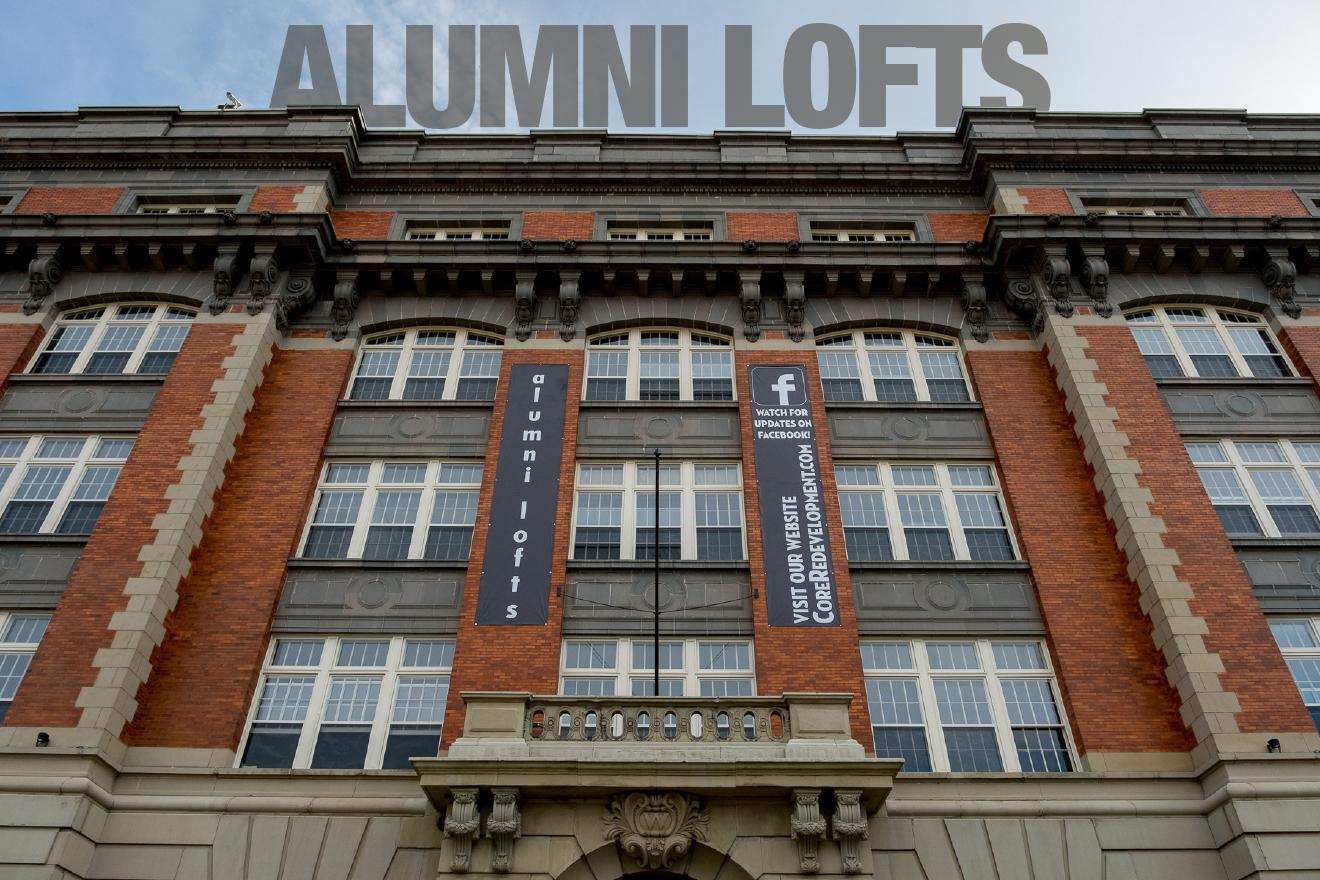 Alumni Lofts / DESCRIPTION: Jam-packed with vintage Rookwood tile, lots of historic character from its time as a high school, and within walking distance of many different OTR hotspots. / APARTMENTS START AT: $879 per month / ADDRESS: 1310 Sycamore Street / PHONE: (513) 281-1200 / IMAGE: Daniel Smyth Photography // Published: 1.17.18