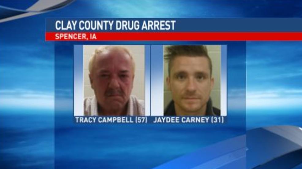 Two arrested in Clay Co  drug bust | KMEG