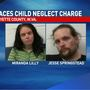 Two facing child neglect charge in Fayette County