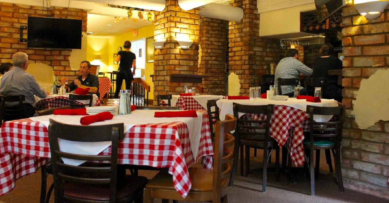Ferrari's Little Italy, your friendly neighborhood Italian restaurant and bakery, is tucked neatly within the heart of Madeira. ADDRESS: 7677 Goff Terrace, Madeira, OH 45243 / Image: Rose Brewington