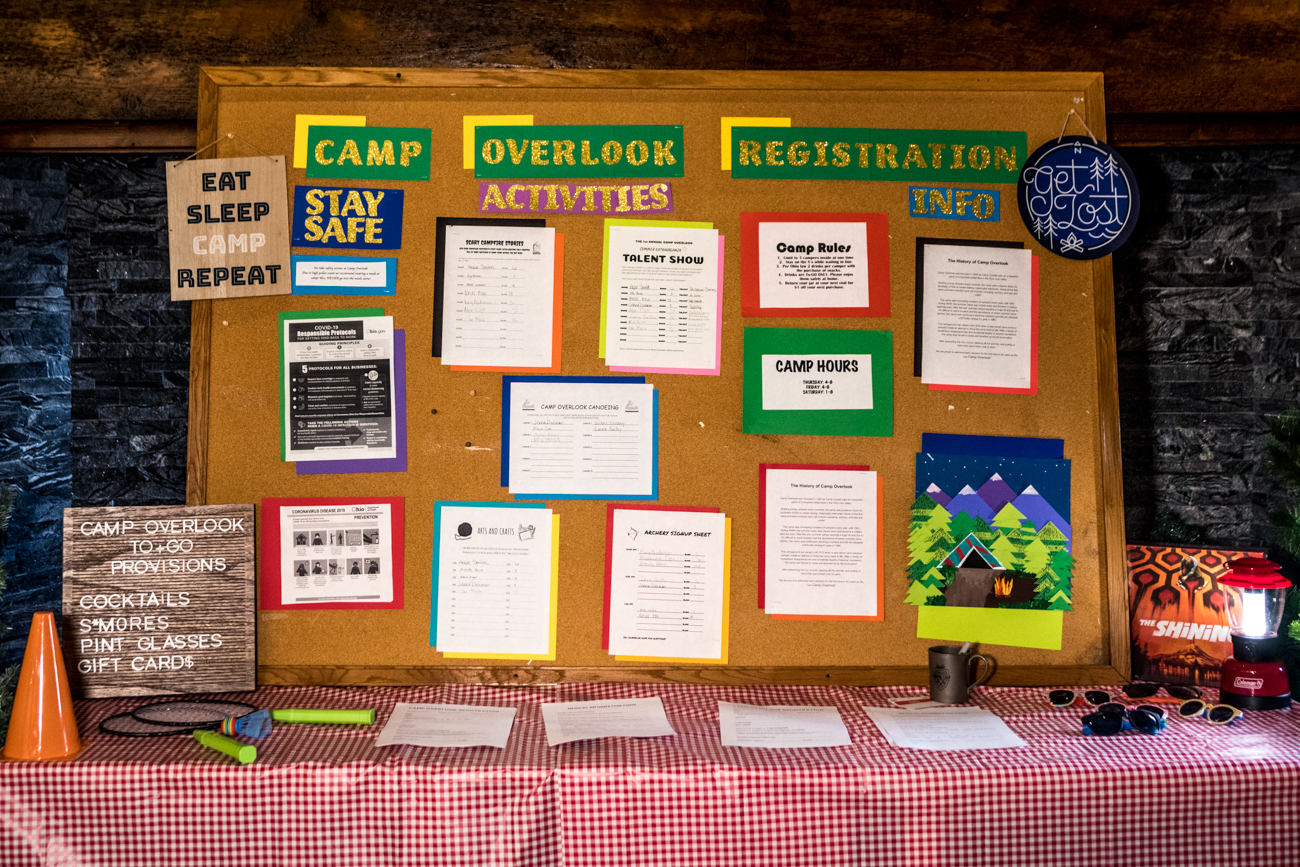 Camp Overlook's history is not only strange, but completely made-up. Originally known as Camp Crystal Lake, the site was purchased and restored into Camp Overlook after being boarded up for 40 years due to mysterious disappearances. Stock up on their spooky supplies by stopping in on Thursday and Friday from 4 to 8 PM and Saturday from 1 to 8 PM. THE OVERLOOK LODGE ADDRESS: 6083 Montgomery Road (45213) / Image: Catherine Viox // Published: 6.2.20