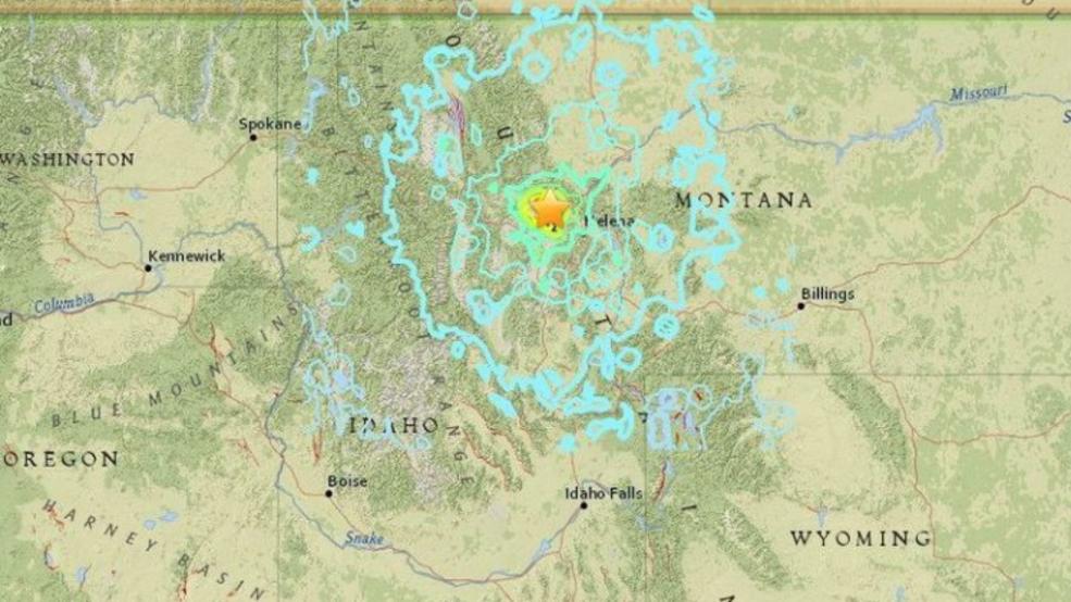 Earthquake tracker helena mt