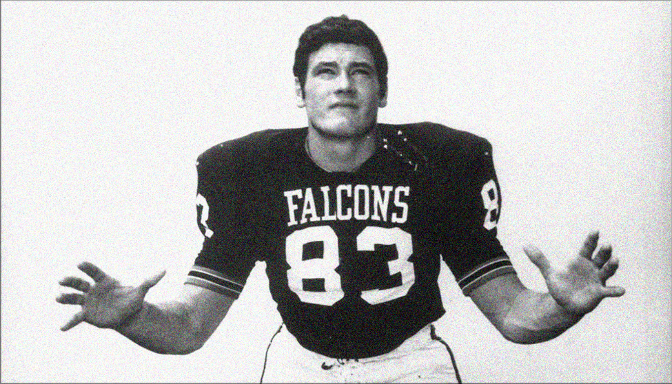 Phil Villapiano, who played in four Super Bowls with the Oakland Raiders, was first-team All-MAC as a junior and senior at Bowling Green and MAC Defensive Player of the Year in 1970. With the Oakland Raiders, he was a four-time Pro Bowler. (Photo courtesy of BGSU Athletics)