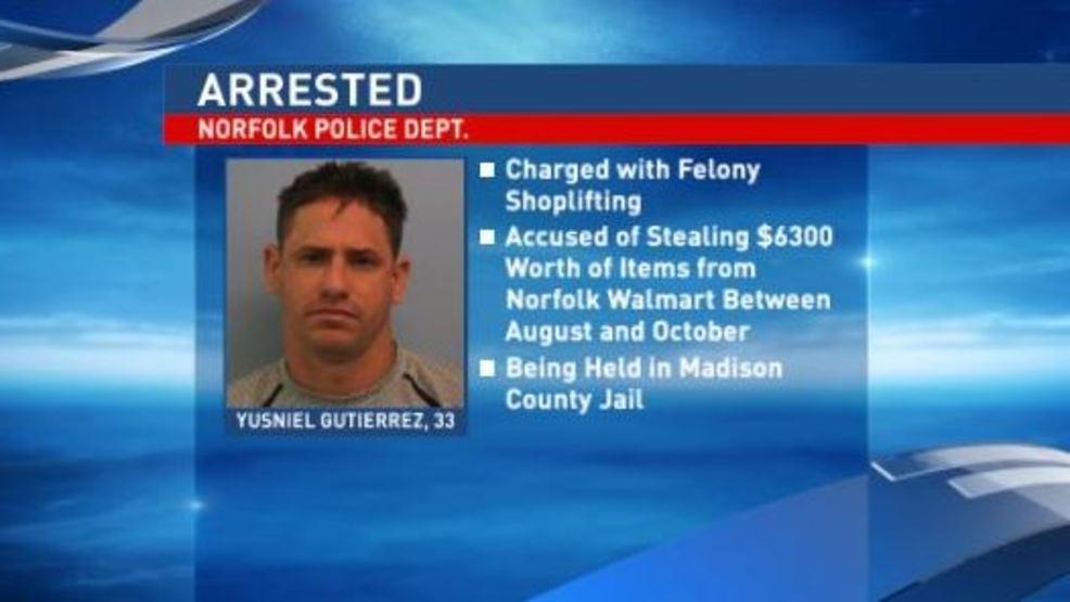 Serial shoplifter arrested after stealing $6,000+ from Norfolk Walmart
