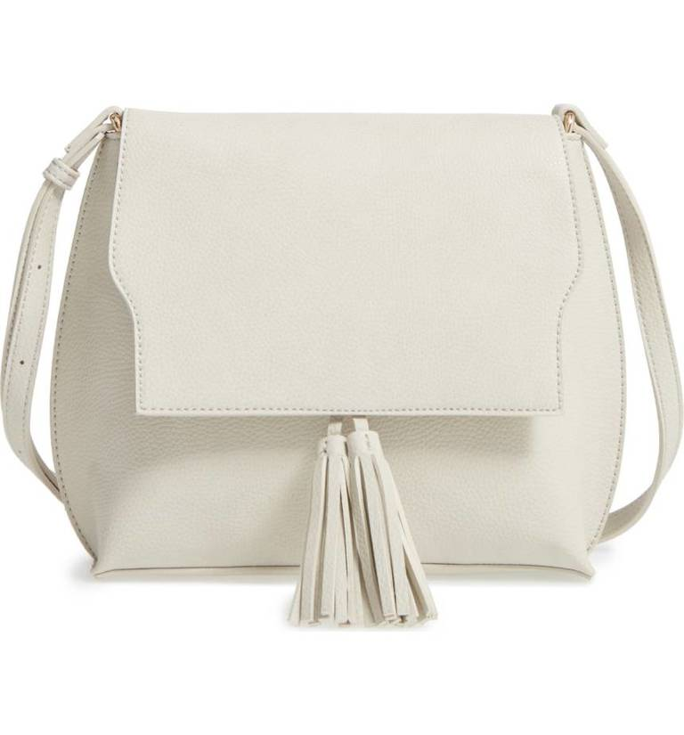 Sole Society Tassel Faux Leather Crossboy Bag, $54.95, Nordstrom.com (Image: Courtesy Nordstrom)