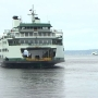 A new ferry goes through its paces in Elliott Bay sea trials