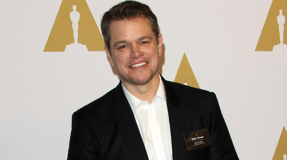 Matt Damon was one of the first to learn George Clooney's baby news