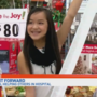 After 56 surgeries, girl goes on shopping spree to comfort friends at hospital
