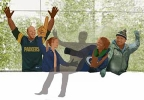 A rendering of the Lambeau Leap spot. (Courtesy: Green Bay Packers)