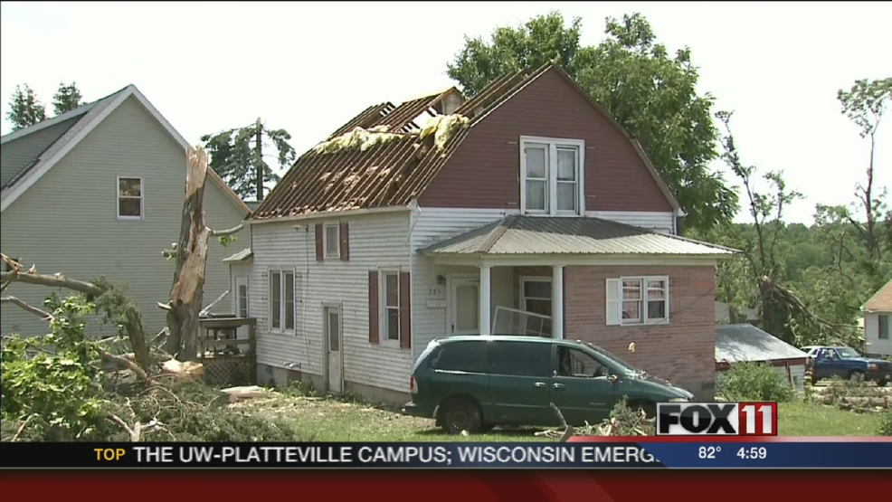 Three tornadoes hit southern Wisconsin