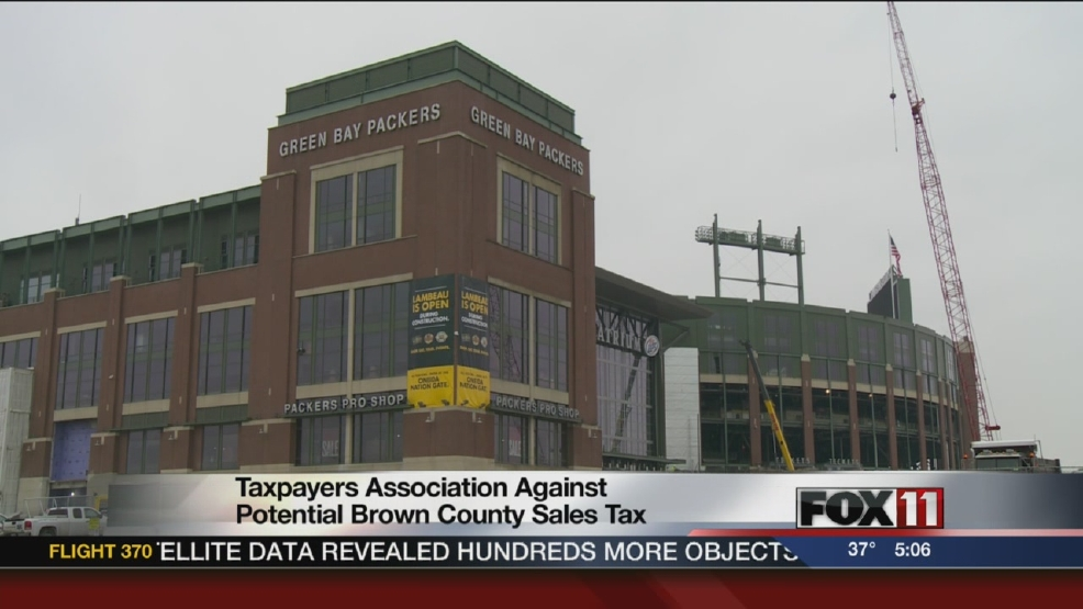 Taxpayers association against potential Brown Co. sales tax