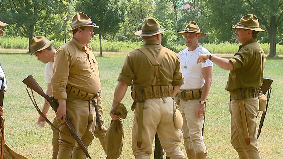 WWI RE-ENACTMENT HERITAGE HILL