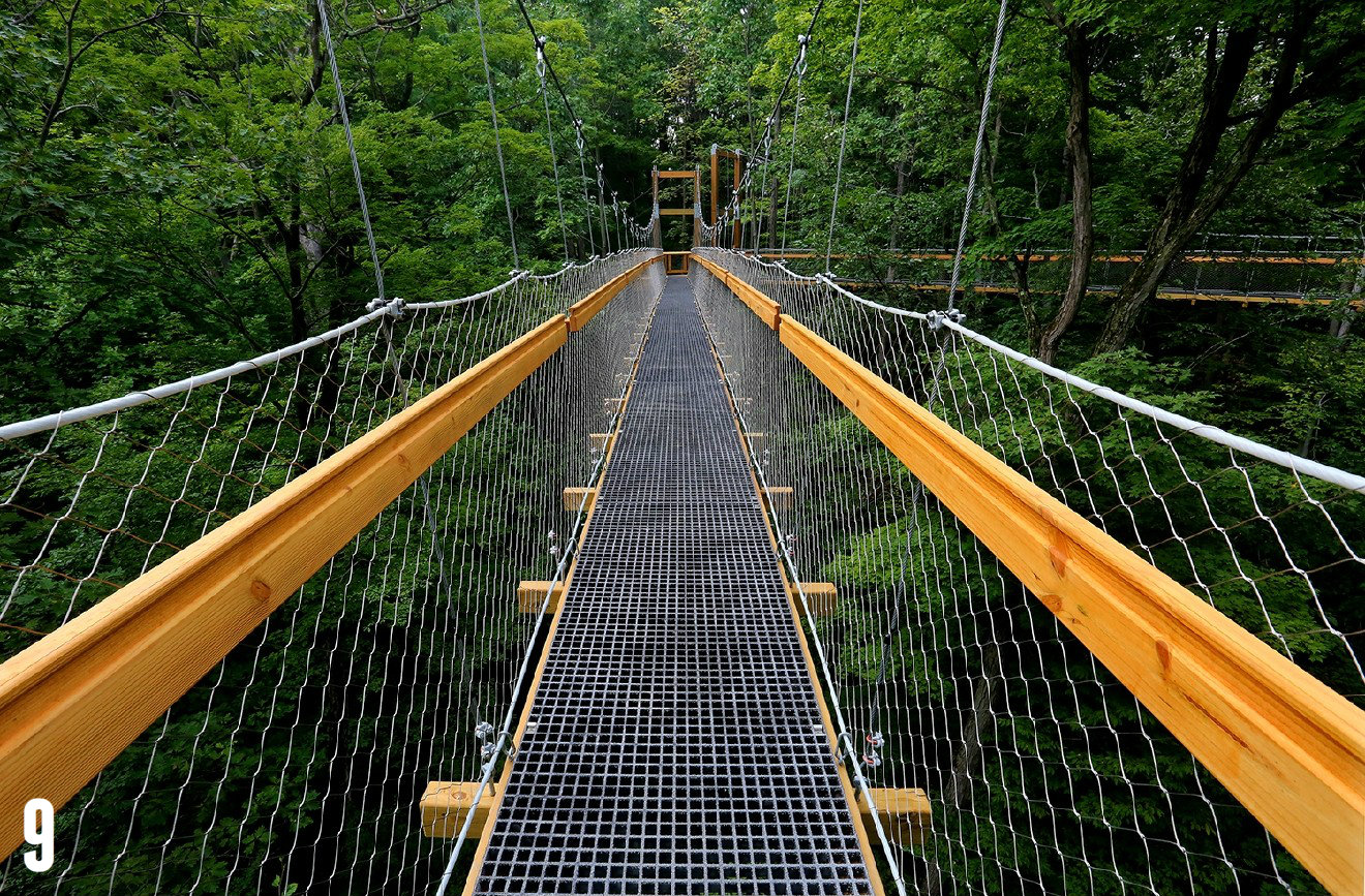 "STORY: ""This Epic Canopy Tour Is Located In Ohio, Just 4.5 Hours Away"" / ADDITIONAL NOTE: The Holden Arboretum (home to the Emergent Tower and Canopy Walk) is located in Kirtland, Ohio. / IMAGE: courtesy of The Holden Arboretum / Published: 12.25.16"