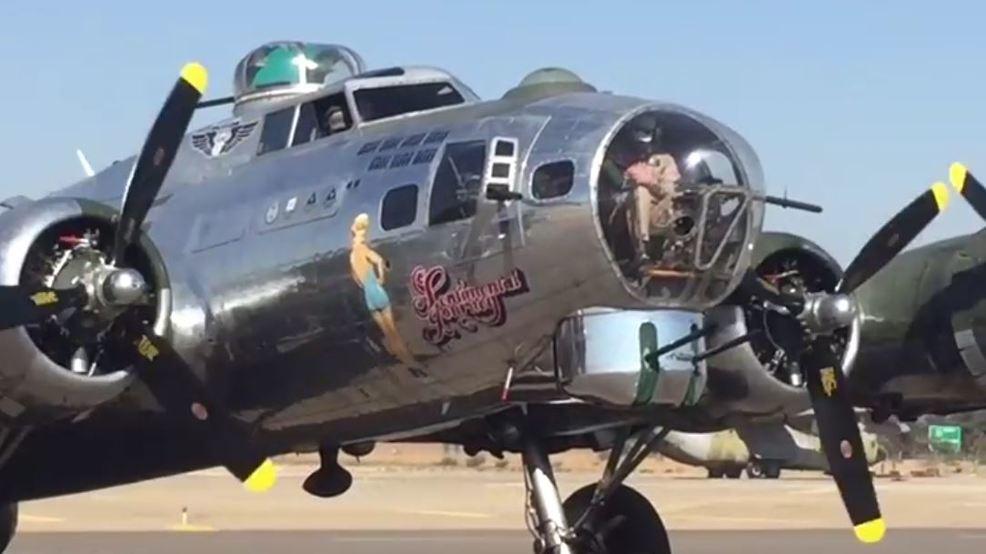 b 17 bomber sentimental journey in visalia kmph