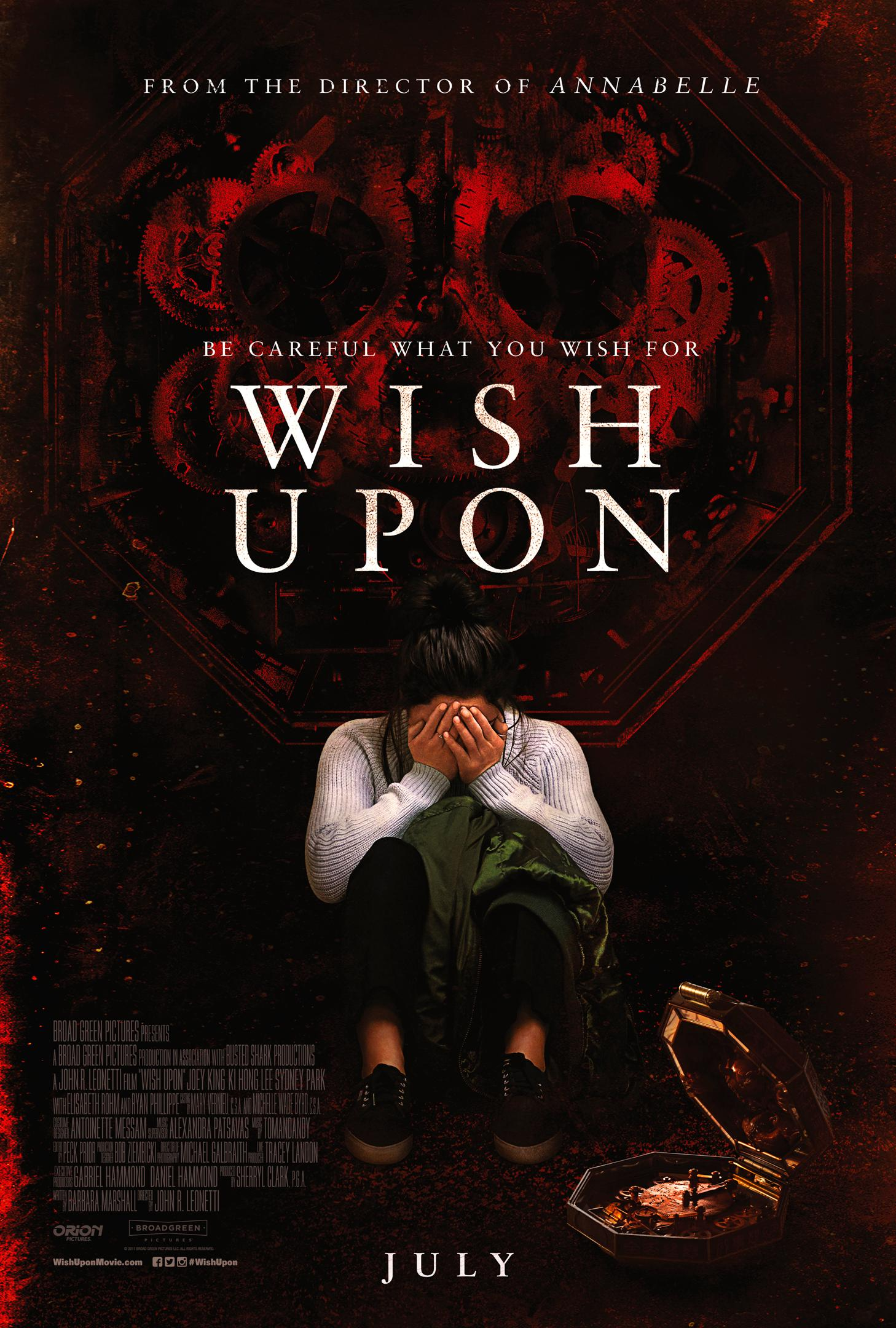 Wish Upon Poster: Broad Green Pictures
