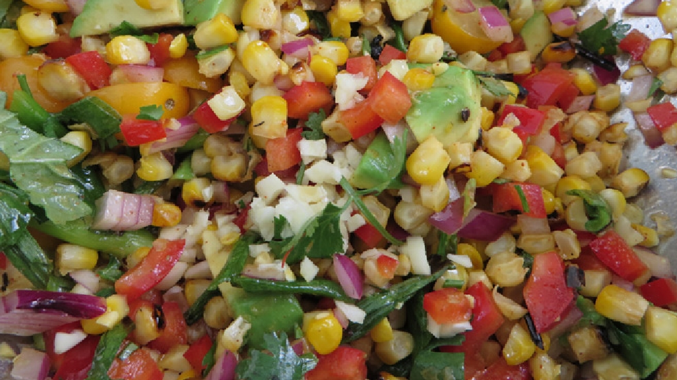 Charred Corn Salad (WLUK)