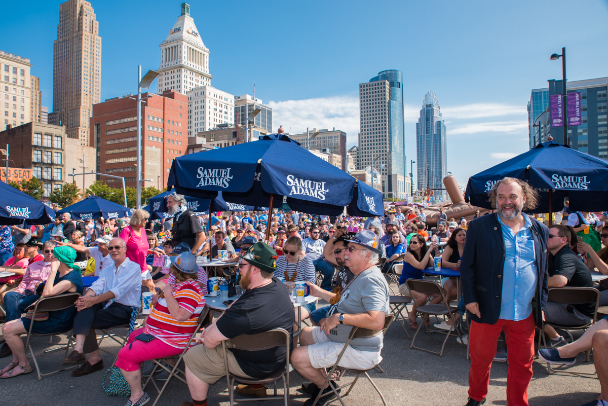 Oktoberfest Zinzinnati (considered the best Oktoberfest in the U.S.) has been going on all weekend long (Sept. 15-17) between Walnut and Elm Streets at Second and Third Streets in Downtown Cincinnati. / Image: Sherry Lachelle Photography // Published: 9.17.17